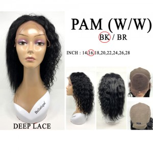 Bellatique 100% Virgin Brazilian Remy Human Hair Wig PAM(W/W)