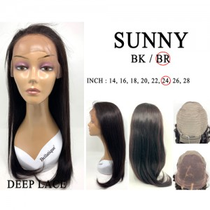 Bellatique 100% Virgin Brazilian Remy Human Hair Wig SUNNY