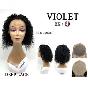 Bellatique 100% Virgin Brazilian Remy Human Hair  Wig VIOLET