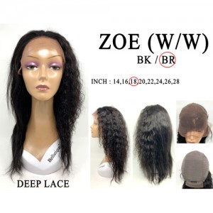 Bellatique 100% Virgin Brazilian Remy Human Hair Wig ZOE(W/W)