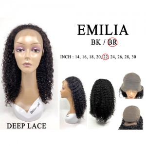Bellatique 100% Virgin Brazilian Remy Human Hair Wig EMILIA