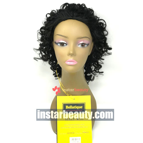 Bellatique Brazilian Virgin Remy Half Wig PEPPER