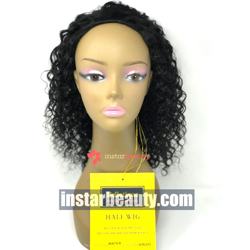 Bellatique Brazilian Virgin Remy Half Wig WATER