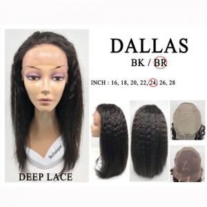 Bellatique 100% Virgin Brazilian Remy Human Hair  Wig DALLAS