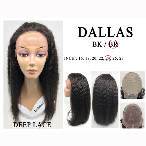 Bellatique 100% Virgin Brazilian Remy Human Hair  Wig DALLAS