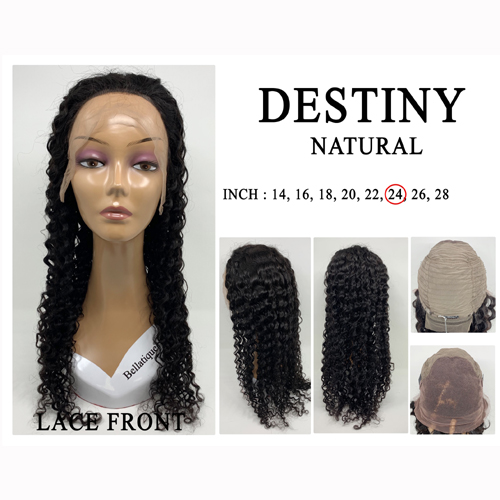 "Bellatique 100% Virgin Brazilian Remy Human Hair  Wig DESTINY 14""~28"""