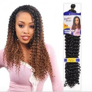 "FreeTress Synthetic Hair Crochet Braids Water Wave 22"""