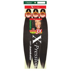 """Outre Pre Stretched ULTRA BRAID - XPRESSION 3X 52"""""""