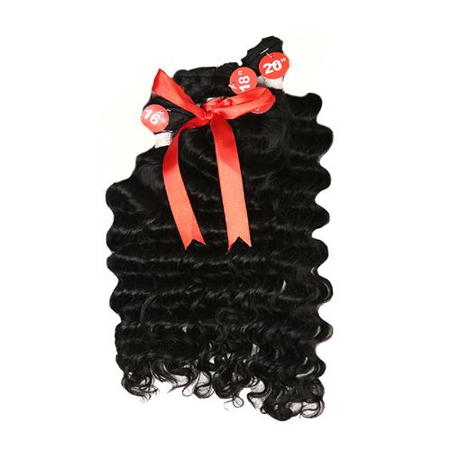 12A Queen Hair Brazilian Remy Human Hair Weave 3Bundles Deep Wave