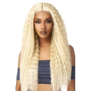 Outre Human Hair Blend 5x5 W Part Closure - SUPER WAVE