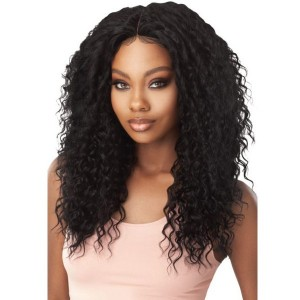 Outre Human Hair Blend 5x5 W Part Closure - DEEP WAVE