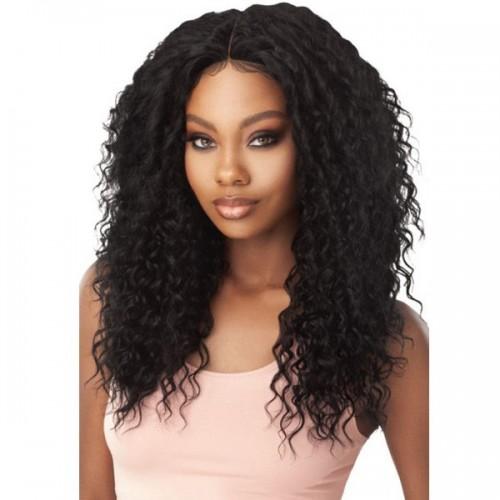 Outre Human Hair Blend 5x5 W Part Closure - DEEP WAVE