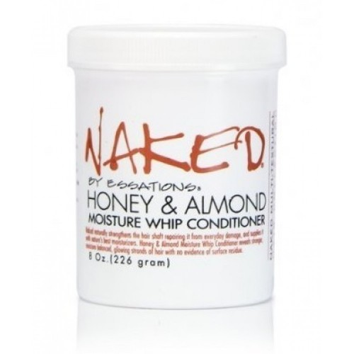 Naked By Essations Honey & Almond Moisture Whip Conditioner 8 OZ