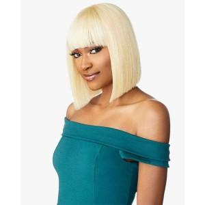 "Sensationnel 100% Virgin Human Hair Full Wig 10A STRAIGHT 11"""