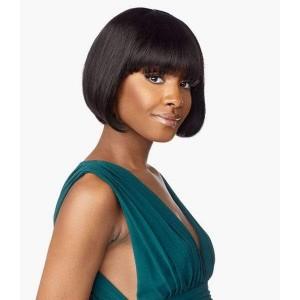"Sensationnel 100% Virgin Human Hair Full Wig 10A STRAIGHT 9"""