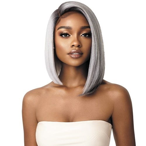 Outre Synthetic L-Part Swiss Lace Front Wig RENI