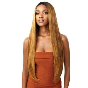 Outre Synthetic Melted Hairline Lace Front Wig ELIANA