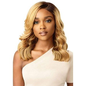 Outre Synthetic Melted Hairline Lace Front Wig ELORA