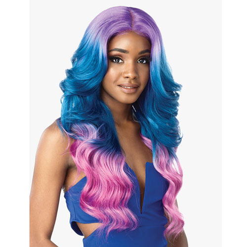 Sensationnel Empress Shear Muse Synthetic Lace Front Wig CHANA